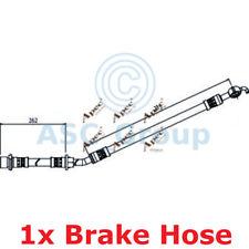 APEC BRAKING 262mm Scheibe Bremssattel flexibel GUMMISCHLAUCH hos4077