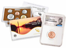 2019 S US Clad Proof Coin Set & 2019-W Lincoln Cent PF70 RD FR SKU57607