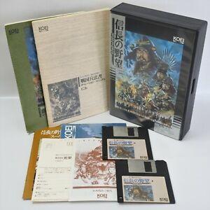 MSX NOBUNAGA NO YABO Sengoku Gunyuden Namcot Msx2+ 3.5 2DD Japan Game 1452 msx