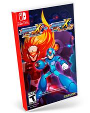 Mega Man X Legacy Collection 1 y 2  SWITCH IMPORTADO NUEVO INGLES FISICO JUEGO