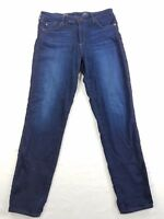 AG Adriano Goldschmied Prima Mid Rise Cigarette Stretch Womens Denim Jeans 31R