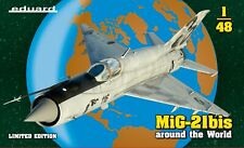 Eduard 1/48 Model Kit 11135 Mikoyan Mig-21bis Around The World Limited Edition