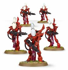 WARHAMMER 40000 46-13 Eldar wraithguard 5 X MINI FIGURE KIT T48 POST
