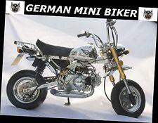 Sport-Auspuff Big-Sidepipe Honda Dax Monkey, Skyteam Skymax 50 & 125  CC1102