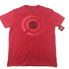 Manchester United Lightweight Training Top Jersey T-Shirt LARGE L Goal Target
