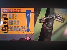2 80's rock LP lot,Reckless Sleepers,Big Boss Sounds,Max Demian,Call of the Wild