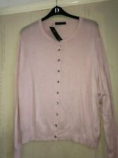 Pale Pink Cardigan soft feel size 24 smart casual summer