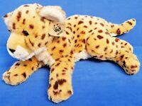 WWF LEOPARD STOFFTIER PLÜSCHTIER 40 CM WORLD WILDLIFE FUND LEPPARD KUSCHELTIER