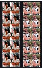 SYLVESTER STALLONE SET OF2 CINEMA CENTENARY MINT VIGNETTE STAMPS