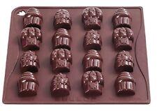 Pavonidea Choco15s Stampo in Silicone per Cioccolatini/ghiacciolini Marrone Cho