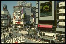 065111 Outdoor TV Screen Shibuya A4 Photo Print