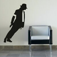 Micheal Jackson Wall Sticker Decal Art Transfers Graphic Stencil Removable nic8