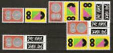 Nederland alle combinaties uit postzegelboekje 61