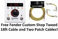 New Eventide H9 Harmonizer Guitar Multi-Effects Pedal! Free Fender Cables!