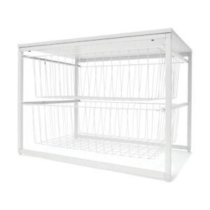 2 Wire Drawer Unit Organise Cosmetics Bath Linen A Versatile Storage Solution .