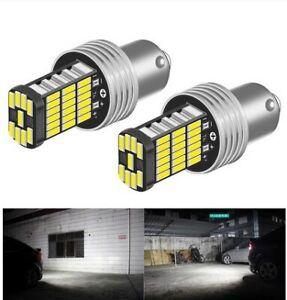 Ampoules LED P21W BA15S blanc veilleuses Canbus 6000K Feux de recul voiture