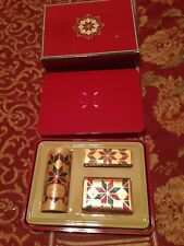 Avon Country Christmas for Her Set - Candid cologne, soap, talc - 1982