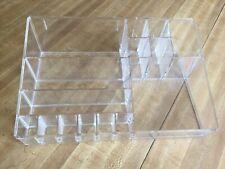 Large Clear Acrylic Display Nail Polish Make Up Stand / Organizer