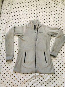 Patagonia Women's Fleece Full Zip Color Light Gray Size Large
