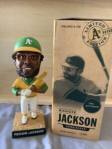 Reggie Jackson Bobblehead Oakland A's Rare Beautiful Piece Mr October