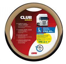 Lampa Club Premium Lenkradschutz schwarz-beige 46/48 cm