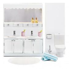 New Lundby Smaland Vanity Bathroom dollshouse furniture toilet doll house
