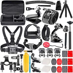 GoPro HERO 3 4 5 6 7 8 9 Action Camera Accessories Set Bundle Sport Kit Mounts