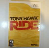 Tony Hawk: Ride (Nintendo Wii, 2009) Game Only requires Wii Skateboard FREE SHIP