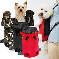 Pet Puppy Dog Cat Carrier Bag Front Backpack Net Bag Tote Sling Carrier Bag
