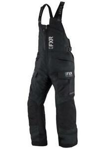 FXR EXCURSION ICE PRO WOMENS BIBS WARM WINTER SNOWMOBILE SNOW PANTS -Size 14 -16
