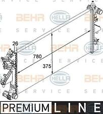 Radiator Fiat Ducato 120 130 Multijet 2,3D Behr Hella 8MK376745021 1349207080
