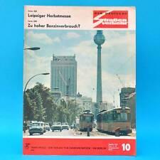 Der Deutsche Straßenverkehr 10/1970 DDR Schleizer Dreieck Messe Leipzig F