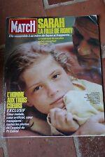 paris match n°1933 sarah biasini charlotte valandrey reza john mcenroe