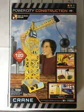 2014 JAKKS Power City Construction Set CRANE (124 Pieces) NEW