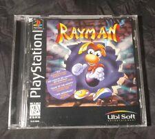 RAYMAN Playstation 1 PS1 PS2 PS3 Black label variant RARE!