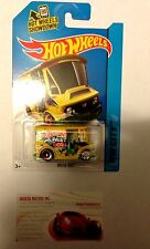 HOT WHEELS 1:64TH BREAD BOX PAINT CO YELLOW 7/250 HW CITY SERIES NEW IN PACKAGE