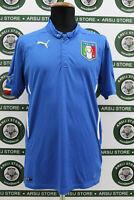 Maglia calcio ITALIA TG L shirt trikot maillot camiseta jersey