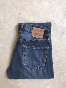 Jean Levis 501 Vintage Taille Haute W32 L32 Taille 42