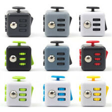 Magic Fidget Cube Anxiety Stress Relief Focus 6-side Gift For Adults and Child