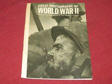 Vintage 1964 Great Photographs of World War II Selected by Reader's Digest