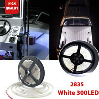 New Bright Red 5M 2835 Waterproof/&Cuttable Flexible Boat LED Strip Light LED 12V