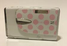 Fujifilm FinePix Z Series Z20fd 10.0MP Digital Camera White & Pink Polka Dots