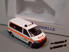 Rietze 51619 VW t5 LR Yoo Johann iter incidente aiuto Stoccarda TRANSPORTER MTW RTW