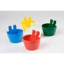 Poultry Cage Cups Various Colours (pack of 12 mixed) SUPA