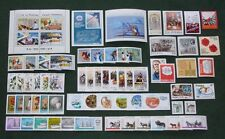 Poland 1980 - mint MNH - complete year set of 61 stamps + 3 blocks --- full all
