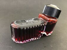 Vintage Montblanc Fountain Pen Ink With SC21 - Red 52 ml