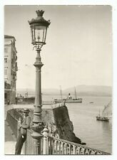 GREECE IONIAN ISLANDS CORFU KERKYRA PARTIAL VIEW OLD PHOTO POSTCARD #1