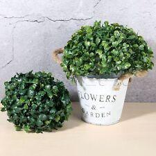 Beautiful Artificial Boxwood Topiary Tree Plant Ball Ornament Patio Home Decor