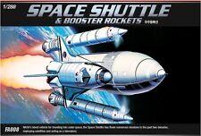 Academy 1/288 Space Shuttle & Booster Rockets Plastic Model Kit Cartograf 12707