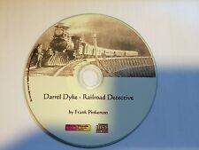 Dyke Darrel The Railroad Detective Mp3 Audio Book CD Cowboy Western